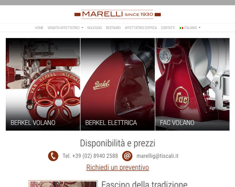 Read more about the article Marelli Affettatrici Restyling
